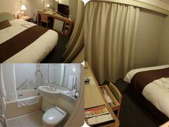 大街道にある松山東急REIホテルにチェックインしました。