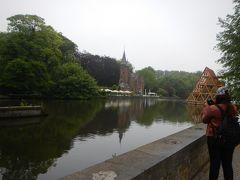 愛の湖公園へ。 なんともロマンティックなネーミングです。