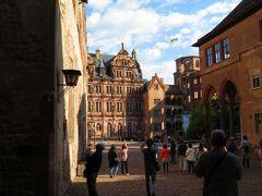 20180429 7:45 フランクフルトのホテル出発           9:15 ハイデルベルクへ到着              ハイデルベルク城の観光