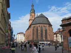 ハイデルベルクの大聖堂です。立派!