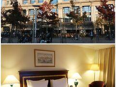 """フルン広場 """"Groenplaats"""" の東側に、宿泊ホテルの 『ヒルトン・アントワープ・オールドタウン』があります。  19世紀末から""""Grande Bazar""""というデパートだった建物ですが 1990年代にデパートが廃業し、ホテルとショッピングセンターに なったのだそう。"""
