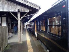 大隅横川駅。6分停車。