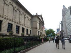 シカゴ美術館  一人だったらじっくり中を見たいところですが  出張中なので そうもいかず・・・