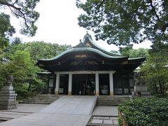 王子神社。東京十社のひとつ。