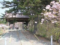 松前城近くの阿吽寺
