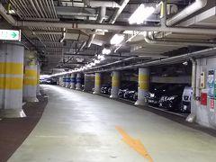 汐留駐車場で車中泊