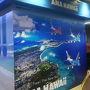 A380のハワイ路線への投入。 ANAは積極的に宣伝してますね。 京急の駅構内にも特設コーナーが用意されていました。