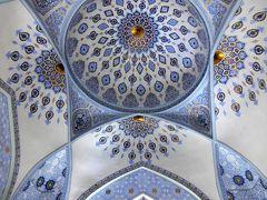 大変美しいモスクに驚いた。
