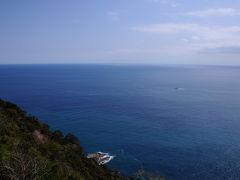 灯台の中に入り、上にある外回廊へ。 そこからの海の眺めは、素晴らしいの一言。 海を渡ってくる風も、とても気持ち良った。