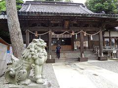 そのまま道なりに下りて来ました。金沢最古の神社なんですね。風情があります。