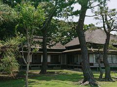 旧伊藤博文別邸 なんて景色のよい場所に!