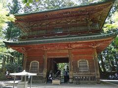 ●文殊楼@東塔エリア  比叡山の山門になります。 この後ろには、長い急な階段があり、降りていくと、根本中堂になります。