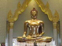 黄金の仏像です。 作られたのが西暦 700年ごろで20世紀に覆われていた漆喰が剥がれて、 黄金であることが分かったとのことです。