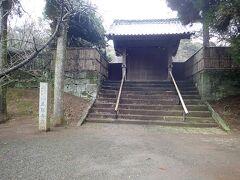 熊本大学の近くにある立田自然公園(秦勝寺跡)へ。