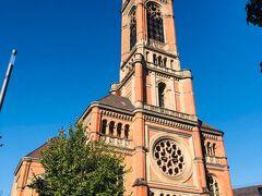 ヨハネス教会。  旧市街からちょっと歩く。