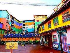 カラフルな小さな町グアタベ。楽しい町歩きでした。