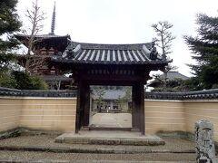 17~18分歩いたところで法輪寺に着きました。