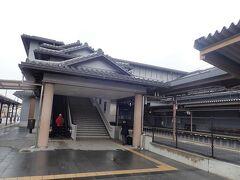 途中細い道をゆっくりと走って10分弱でJR法隆寺駅に着きました。