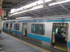 JR 蒲田駅から 田町駅に向かいます