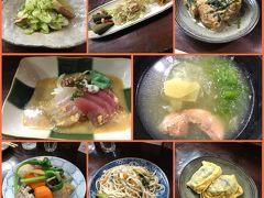 最後の晩ご飯は「喜多八」さんで 黒糖焼酎を飲みながら食べた酢味噌のお刺身が美味しかった! 女将さんがとっても素敵で島料理を堪能できました☆
