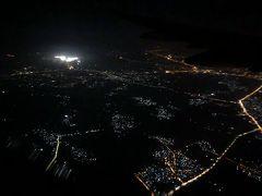 4時間待ちの乗継でようやく日本に向け離陸。 楽しかった旅でした!