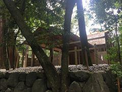 豊受大神宮の荒御霊を祀る多賀宮をお参りします。