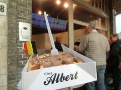 Chez Albertでワッフル!