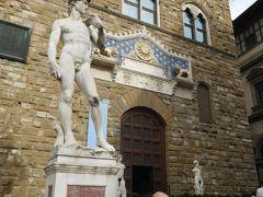 なんかさっきも同じような写真を撮った気がしますが、とりあえずヴェッキオ宮の中に入ってみましょう☆