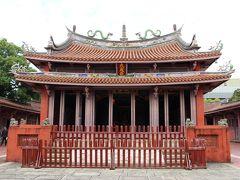 台湾で初めての学校「孔子廟」