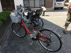 浅野レンタサイクルで電動自転車をレンタル