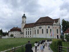 1983年に世界遺産に登録された「ヴィース巡礼教会」に到着。