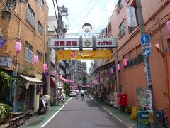 中目黒駅そばの目黒銀座商店街まで来ました。