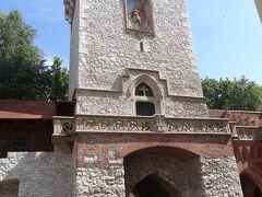 フロリアンスカ門をくぐると旧市街に入る。