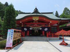 宮城県護国神社で参拝します。