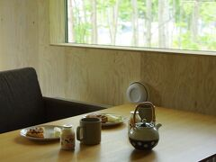 2泊3日の旅も今日で最後! お昼にレストランを予約しているので、朝食は軽めにしました。