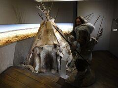 城内にはルブリンの歴史を紹介しているブースもある。これはもぅ、古代の時代ですね。
