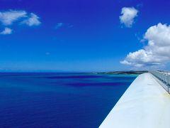 翌朝、快晴の伊良部島を後に多良間島を目指し 宮古空港に向かいます。