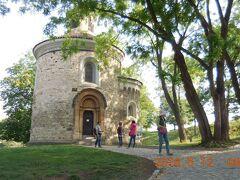 聖マルティン教会のロトンダ  1100年頃建てられたプラハで最も古いロマネスク建築物のひとつ。