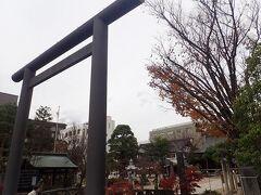 体があったまったところで近くの四柱神社(よばしらじんじゃ)へ。