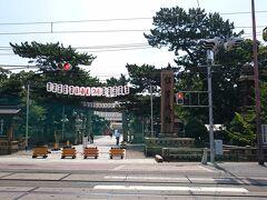 大阪一の神社へ。