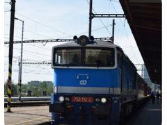 こちらの列車に乗ってブルノに移動しました。 1時間ほどで到着しました。