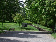 ホテルチェックインまでにシュピルベルク城を見学することにします。 城がある公園にやってきました。