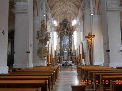 聖ミクラーシュ大聖堂の内部