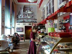 カフェLa Crete d'orで昼食