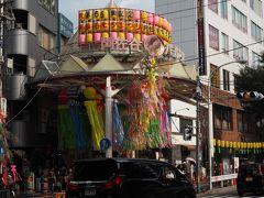 上野で何も買わず、阿佐ケ谷まで来ました。  お目当ては七夕まつりです。