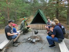 スナフキンのキャンプ