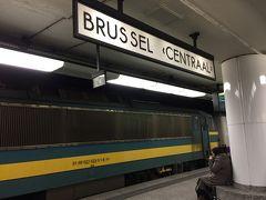 アントワープ駅からIntercityで40分ほどで、ブリュッセル中央駅に到着しました。