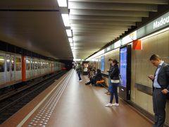 そのままメトロの駅に移動し、宿泊するアパートメントホテルの最寄り駅のMadou駅まで。 Arts-Loi駅から乗り換えて一駅です。