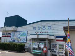 阿久比PAで昼食休憩のつもりだったが、、思い切ってまずは篠島へ渡る片名港の方面に向かい、昼食場所を探すことにした。  たどり着いたのは、豊浜魚ひろば。