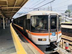 富士駅から身延線 ワイドビューふじかわに乗車 12:11発